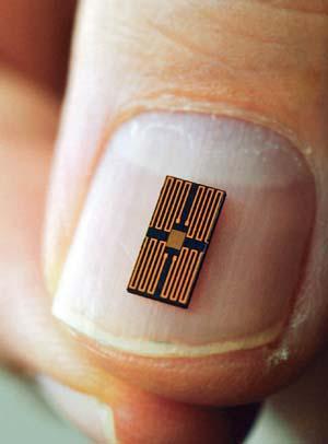 World's Smallest Micro Processor